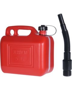 Koopman Fuel Can With Funnel - 5LT