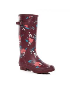 Regatta Women's Fairweather II Printed Wellingtons - Beaujolais Floral