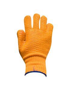 Marksman Gloves - Criss Cross Gripper Yellow - Pair