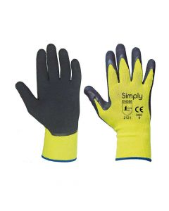 Precision Working Gloves - Polyster Latex Foam