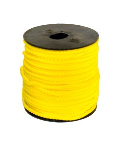 3mm Guy Line - 50 Metre Roll - Yellow