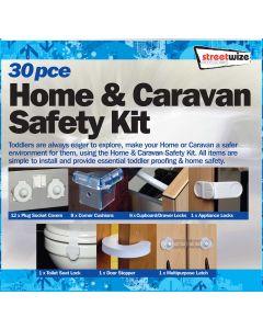 Streetwize 30pce Home & Caravan Safety Kit