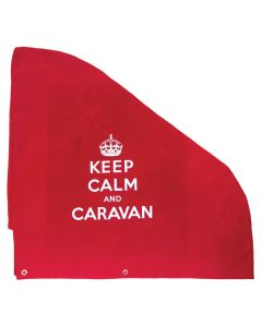 Keep Calm and Caravan Hitch Cover