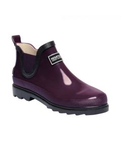 Regatta Women's Harper Low Wellington Boots - Prune/Iron