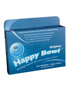 Happy Bowl Toilet Bowl Liners - Pack Of 50