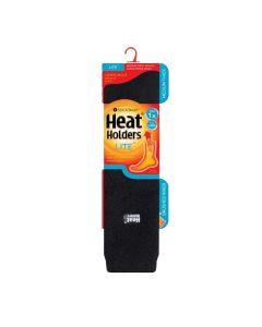 Heat Holders Men's Lite Long Socks - Black