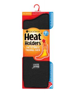 Heat Holders Mens Original Socks Black (UK 6-11)