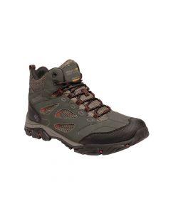 Regatta Men's Holcombe IEP Mid Walking Boots - Dark Khaki Brandy Brown