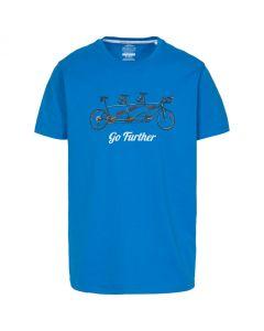 Trespass Hanks II Men's Casual Printed T-shirt - Blue