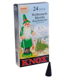 Knox Incense Cones - Pack of 24