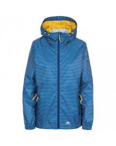 Trespass Induldge Waterproof Packaway Jacket - Blue Moon Stripe