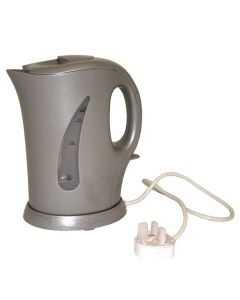 Low wattage kettle for campsite hookup