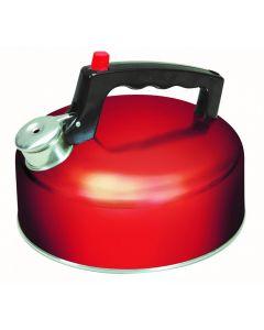 SunnCamp 2LT Stainless Steel Whistling Kettle - Red