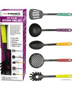 Prima 5 Piece Nylon Kitchen Tool Set