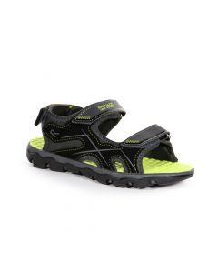 Regatta Kids' Kota Drift Sandals - Briar Lime Punch
