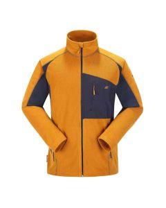 Skogstad Kleivane Men's Microfleece Jacket - Ochre