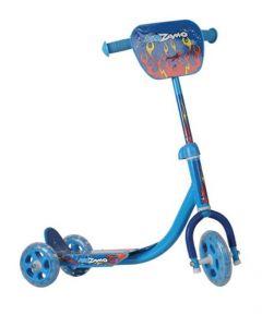Kidzamo 3 Wheel Junior Scooter - Blue