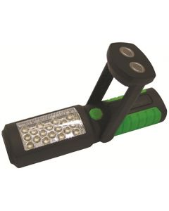 Streetwize 2 in 1 Multi-purpose Torch/Work Light - 18 LED