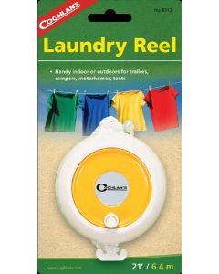 Camping Washing Line Laundry Reel - 21 Feet