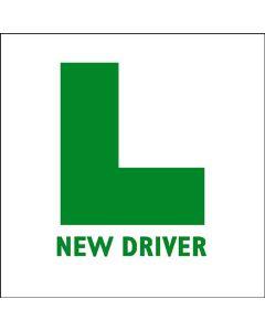 L-Plates New Driver Sticker