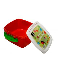 Bello Kids Lunchbox in Red