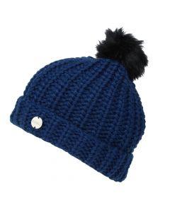 Regatta Women's Lovella II Chunky Knit Bobble Hat - Blue Opal