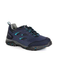 Regatta Holcombe IEP Low Women's Walking Shoes - Navy/Atlantis