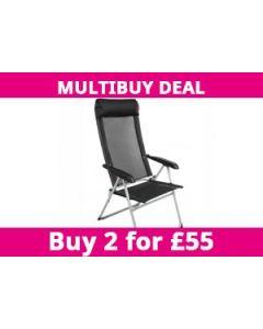 Lollie Pop Folding Chair - Black
