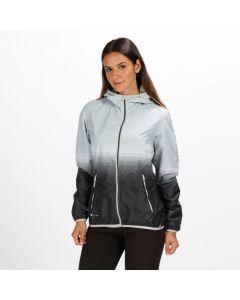 Regatta Leera III Lightweight Hooded Waterproof Women's Jacket - Steel