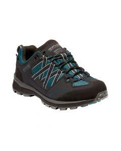 Regatta Women's Samaris II Low Walking Shoes - Shoreline Blue Ash