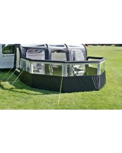Leisurewize Airbreak 8000 - Single Inflation Point Wind Break