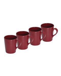Quest Tahiti 4 Piece Melamine Mug Set