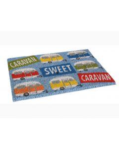 'Caravan, Sweet Caravan' Door Mat