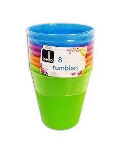 Bello Kids Picnic Tumblers - Pack of 8