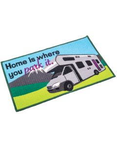 Motorhome Mat - Home Is Where You Park It