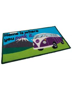 Camper Van Mat - Home Is Where You Park It
