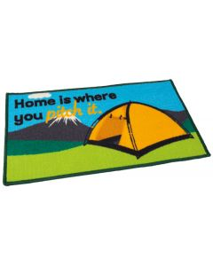 Tent Mat - Home Is Where You Pitch It
