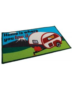 Caravan Mat - Home Is Where You Tow It