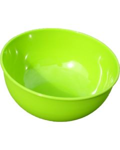 Strider Green Plastic Camping Bowl - 13 x 7cm