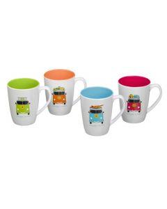 Camper Smiles 4 Piece Mug Set