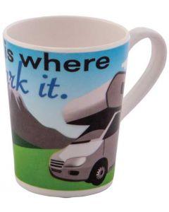 Mug Motorhome - Home Is Where You Park It