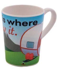 Mug Caravan - Home Is Where You Tow It