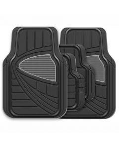 Streetwize Aurora Universal Car Mat Set - 4 Piece
