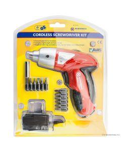 Cordless Screwdriver Kit 3.6v