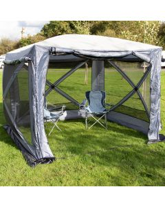 Maypole MP9517 Pop-Up Screen House 4 Square Shelter
