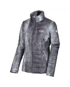 Regatta Women's Metallia II Metallic Quilted Jacket - Magnet Grey