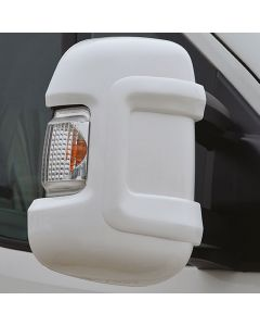 Milenco Short Arm Mirror Protectors - White