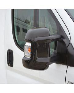 Milenco Short Arm Mirror Protectors - Black