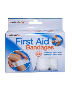 First Aid Bandages x 4
