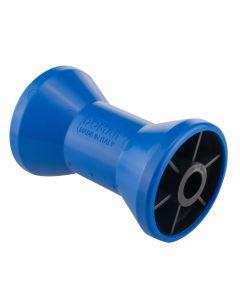 Keel V Roller - 80mm Dia - 15mm Centre Hole